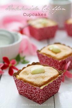 HESTI'S KITCHEN : yummy for your tummy...: Hokkaido Chiffon Cupcakes