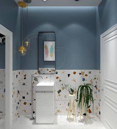Bathroom Design Inspiration, Modern Bathroom Design, Bathroom Interior Design, Interior Decorating, Modern Design, Small Toilet Room, Small Bathroom, Industrial Home Design, Toilet Design