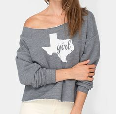 Hey, I found this really awesome Etsy listing at https://www.etsy.com/listing/200141474/texas-girl-american-apparel-athletic