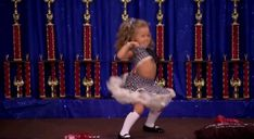 Toddlers and Tiaras. Your 3 year old is booty popping.