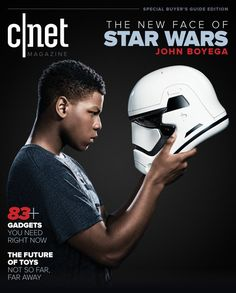 "The newest hero of the ""Star Wars"" saga sees science fiction as a mirror of society's issues. Read CNET's exclusive interview with the new face of Star Wars, John Boyega."