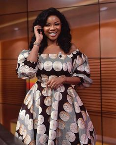2019 Trendy and Adorable Ankara Gown Styles - Naija's Daily African Fashion Ankara, Latest African Fashion Dresses, African Print Fashion, Africa Fashion, Kitenge, Ankara Stil, African Fashion Traditional, Short African Dresses, Modern African Print Dresses