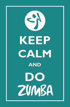 Lookie what I made... because I love ZUMBA so much.