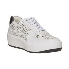 Sneakers da donna con suola ampia