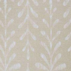 Kaftor Leaf Wheat. Available printed on linen, cotton, cotton linen blends. © Ellen Eden