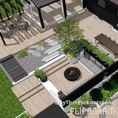Backyard landscaping designs, Deck garden, Roof garden, Terraced landscaping, Ba… - All About Balcony Terraced Landscaping, Backyard Landscaping, Landscaping Ideas, Backyard Ideas, Terrace Garden, Garden Beds, Indoor Garden, Cat Garden, Garden Fun