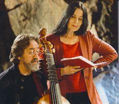 Jordi Savall and his wife, Montserrat Figueras