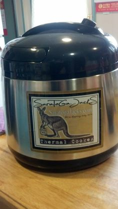 Amazon.com: Saratoga Jacks 5.5L Thermal Cooker Deluxe: Kitchen & Dining