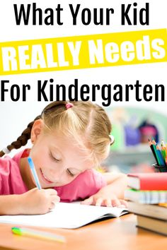 The top school supplies for Kindergarten. Want to know what your kid really needs for Kindergarten. Check out this popular school supply list! Kindergarten School Supplies, Top School, Supply List, Vogue, Kids, Young Children, Boys, Children, Children's Comics