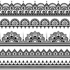 5592908_stock-vector-mehndi-indian-henna-tattoo-seamless-pattern-design-elements.jpg (600×600)