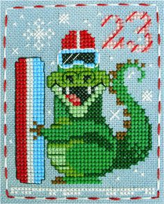 Alistair Alligator, #23 in the Brooke's Books Advent Animals Freebies Collection by Brooke Nolan.