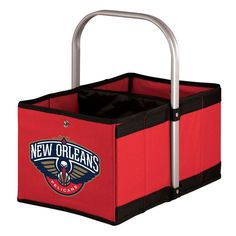 Picnic Time New Orleans Pelicans Urban Folding Picnic Basket,