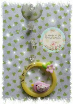 #Souvenirs #Pajaritosvintage #porcelanafría #biscuit #coldporcelain #pastafrancesa #eventostemáticos #colgantesventosa