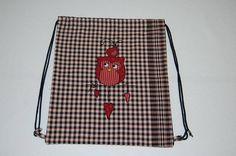 Bolsa mochila farcell bolsa multiusos mochila farcell bolsa Etsy, Spain, Handmade, Bag, Grey Colors, Elves, Key Fobs, Backpacks, Hand Made