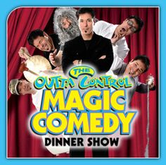 The Outta Control Magic Comedy Dinner Shows in Orlando is seriously a good time! Best Orlando Dinner Shows. Discount Disney Tickets, Magic Comedy, Orlando Restaurants, Attraction Tickets, Guest Services, Kids Events, High Energy, Good Times, Entertaining