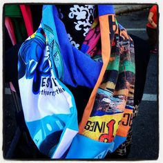 Vintage Surf T-shirt Scarf from Funkykandoo. Find us on Instagram and Facebook!