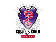Gamer´s Guild of Antioch. Gamer logo.