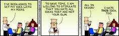 The Dilbert Strip for December 10, 2013