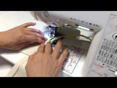 主婦のミシン ファスナーのきれいな縫い方