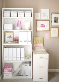 Because organizers keep girl bosses sane. And they provide an easy way to fill empty space!