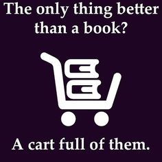 I always wish bookstores have carts cause whenever I go my arms get tired from carrying around approximately a hundred books before I decide which ones I actually want #firstworldproblems