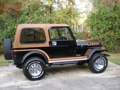 1985 Jeep CJ-7 Laredo Mine looked just like this one. Sure do miss it.
