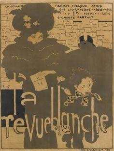 ラ・ルヴュ・ブランシュ 1894年 ピエール・ボナール
