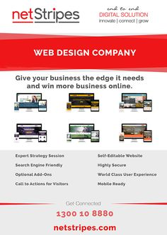 8 Tips for Web Design Company in Sydney Give your business the edge it needs and win more business online. Expert Strategy Session Search Engine Friendly Optional Add-Ons Call to Actions. Website Search Engine, Web Development Agency, Call To Action, Web Design Company, Online Business, Sydney, Digital Marketing, Tips, Advice