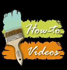 How to videos series to stencil concrete with Modello masking stencils and SkimStone.
