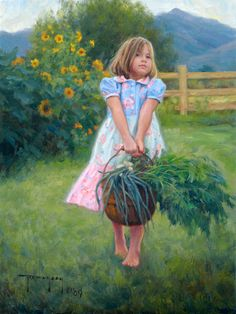 """Harvest"" (2009), by American artist - Robert Duncan (1952 - )"