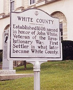 Tennessee - White County Historic Marker