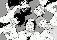 Ao No Exorcist by TheFresco on DeviantArt All Anime, Anime Manga, Anime Guys, Rin Okumura, Blue Exorcist Anime, Ao No Exorcist, Hakkenden, Princess Jellyfish, Cartoon Games
