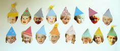 Van elk jaar een gezichtje, leuk voor een 18-21-30-40-50-jarigenbord