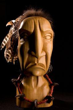 We Were Proud Once, Joshua Adams, Native American, Wood, Joshuaadamsart.com