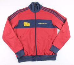 Adidas Originals 1980s Retro I Love Barcelona Track Top Jacket Size Large A9 | Clothing, Shoes & Accessories, Men's Clothing, Athletic Apparel | eBay!