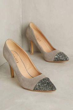 Billy Ella Shimmer-Toe Heels - anthropologie.com