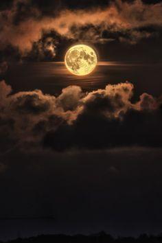 Full Moon by (L H)