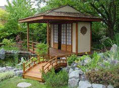 diseño de jardin zen moderno