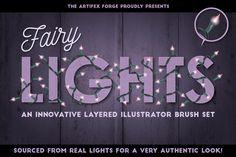 Fairy Light Brushes @creativework247