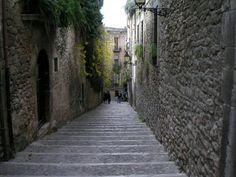 Girona, call jueu Catalonia