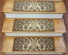 Dean Modern DIY Bullnose Wraparound Non Skid Carpet Stair Treads   Black  Scrollu2026   Home Decor   Pinterest   Stair Treads, Wraparound And Modern