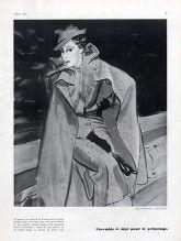 Augustabernard 1934 Cape Hat Panama Rose Descat