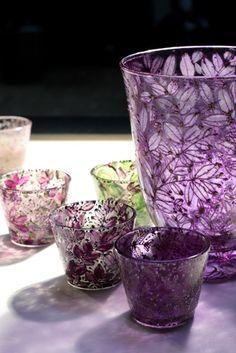 ©Gosha Nagashima, Collectable Hand-Painted Glass