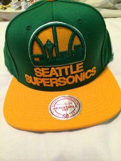 Snapback Seattle Supersonics