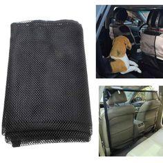 46 x Asiento Trasero Del Coche de 37 pulgadas Vehículo Pet Seguridad Del Gato Del Perro de Nylon del Acoplamiento Neto Barrera De Protección