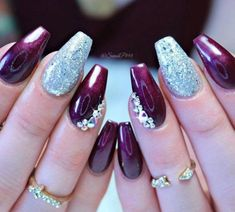 The Best Nail Art Designs – Your Beautiful Nails Gel Designs, Simple Nail Art Designs, Best Nail Art Designs, Toe Nail Designs, Trendy Nail Art, Cool Nail Art, Nail Design Glitter, Nails Design, Floral Nail Art