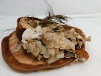 Gorgeous Rare Francois Gaultier Bebe Doll Hat Antique BLOCK LETTER FG #105461