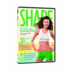 Love this DVD, you can create your own workout routine using the twenty minute workout, and the 4 ten minute workouts.