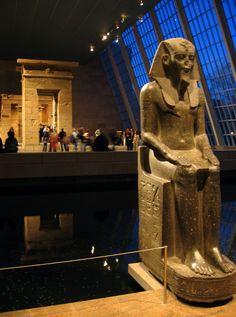 From Egyptian Temple of Dendur (Metropolitan Museum)