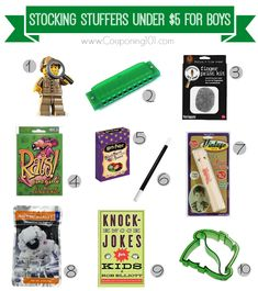 10 awesome stocking stuffer ideas for boys all under 5 each creative christmas
